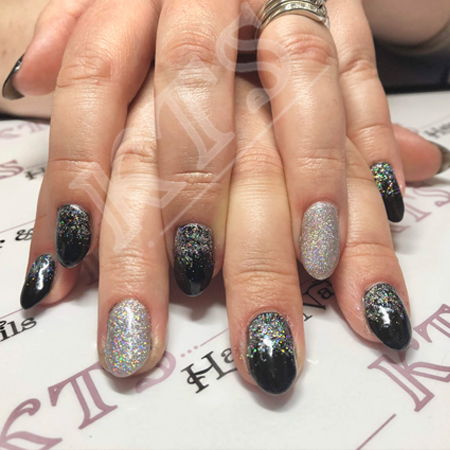 Sparkle and shine nails